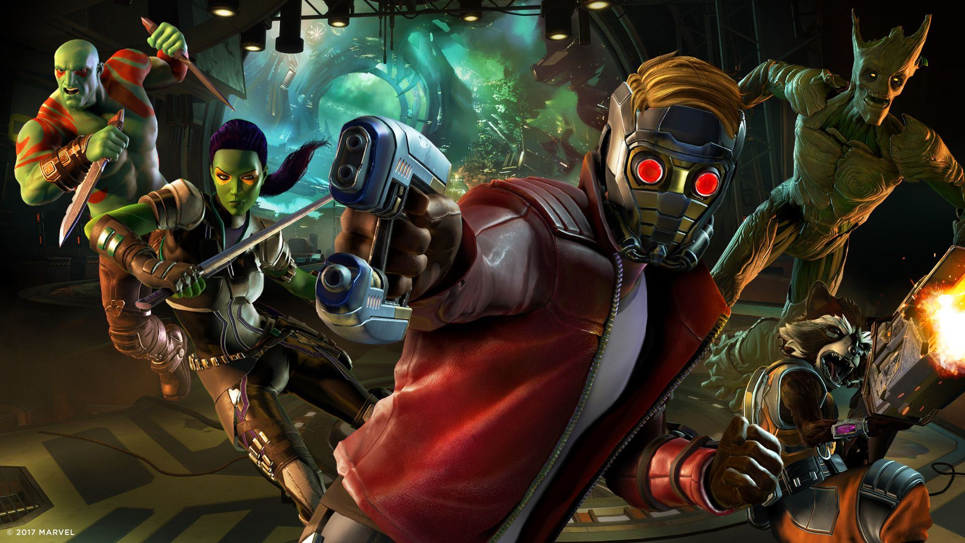 Guardians Of The Galaxy The Telltale Series First Episode