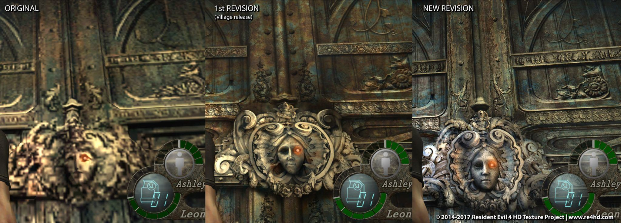 Resident Evil 4 HD Mod Project Revealed New Improved Screen