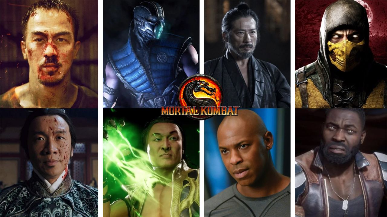 Cast Of New Mortal Kombat Movie Announced Game News Plus