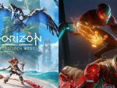 Horizon Forbidden West and Spider-Man Miles Morales