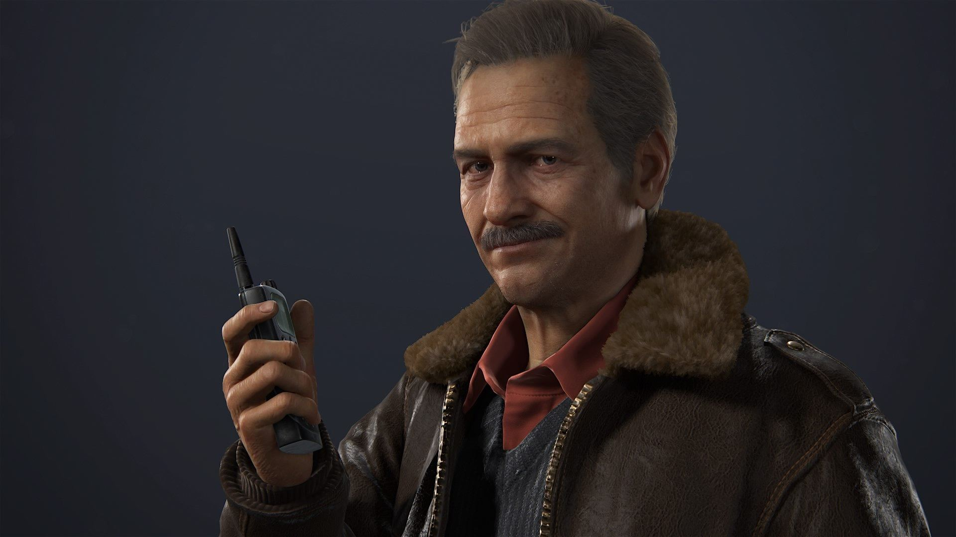 The Gorgeous Mustache of Mark Wahlberg's Uncharted's Sully