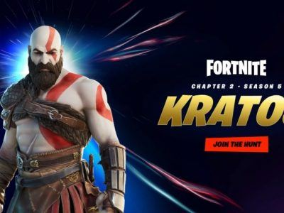 Fortnite Gets The God Of War Kratos Skin