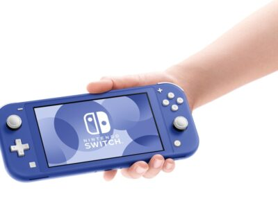 A New Nintendo Switch Lite in Blue